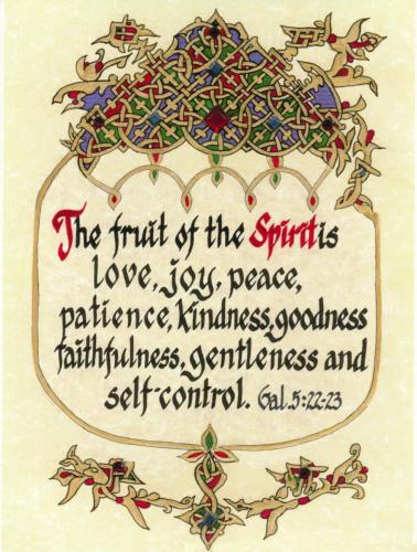 2016-12-19 The Fruit of the Spirit